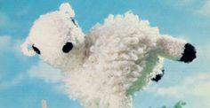 Celebrate Chinese New Year with our free sheep knitting pattern
