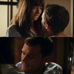 """I know I'm complicated"" - Christian ""Just a little bit"" - Ana #FiftyShadesDarker"