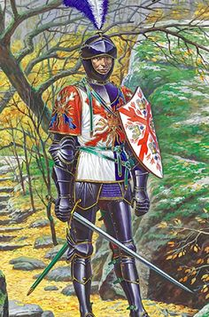 Burgundian Knight, Hundred Years War