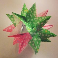 #Origami #kusudama