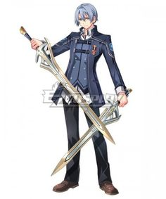 View an image titled 'Kurt Vander Art' in our The Legend of Heroes: Trails of Cold Steel III art gallery featuring official character designs, concept art, and promo pictures. Game Character Design, Character Design References, Character Concept, Character Art, Face Characters, Fantasy Characters, Trails Of Cold Steel, Manga, The Legend Of Heroes