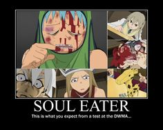 soul eater motivational posters - Google Search