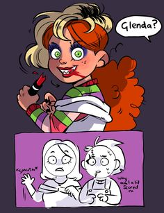 Creepypasta Characters, Horror Movie Characters, Horror Movies, Fictional Characters, Chucky, Kids Playing, Scary, Creatures, Things To Come