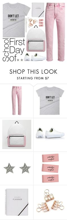 """""""OOTD - Back To School"""" by artbyjwp ❤ liked on Polyvore featuring Étoile Isabel Marant and Converse"""
