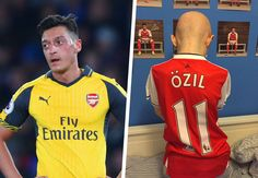 Charity thanks 'class' Ozil for making dream come true for child with brain tumour