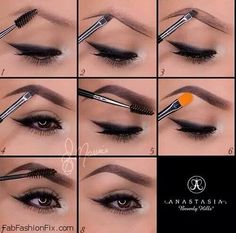 Eyebrow Hacks Tips Tricks; Thick Bold Brows How To Pictures Augenbrauen hackt Tipps Tricks; How To Do Eyebrows, Filling In Eyebrows, Eyebrows On Fleek, Shape Eyebrows, Eyebrow Shapes, Faded Eyebrows, Best Eyebrows, Eyebrows Grow, Eyeshadow Tutorials