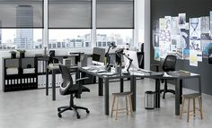 Tok&Stok Office Priorize a funcionalidade: opte por estações de trabalho que atendam clientes e colaboradores.