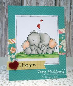 I love you card by Tracy MacDonald