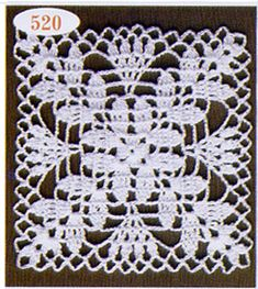 How to Crochet a Solid Granny Square Vintage Crochet Patterns, Crochet Blocks, Granny Square Crochet Pattern, Crochet Diagram, Crochet Squares, Crochet Motif, Crochet Leaves, Thread Crochet, Crochet Flowers