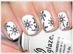 15 of the Most Adorable Winter Wonderland Manicures For You to Learn Now | Beauty High
