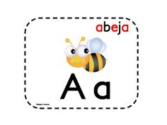 Spanish alphabet  Posters and flash cards