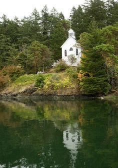 we got married here. Roche Harbor, San Juan Islands