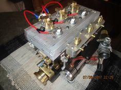 Mini Hot Air Stirling Engine Motor Model Motor Engine Toy Novely Engine Gift UK