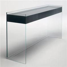 Glas Italia Float Glass Console