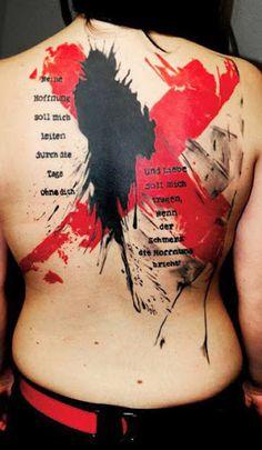 Abstract Tattoo by Buena Vista Tattoo Club?
