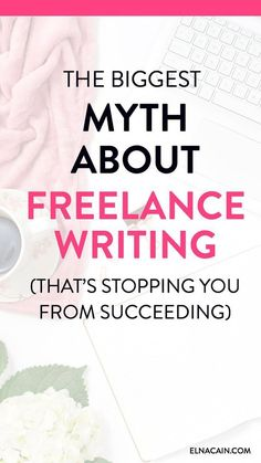 Are you a new freelance writer looking for freelance writing tips? Maybe you've come across ideas of freelance writing and just not sure if they are true. Learn what the biggest myth about freelance writing is and the reasons why you may believe it. Creative Writing Jobs, Online Writing Jobs, Creative Jobs, Make Money Writing, Online Jobs, Writing Tips, Improve Writing, Tips Online, Online College