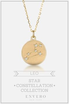 Leo Constellation Necklace – Envero Jewelry