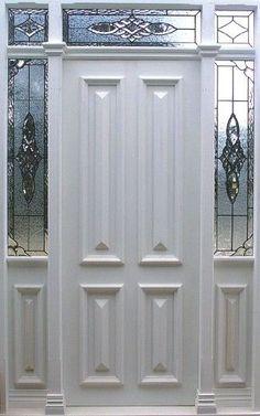 Traditional Entrance Doors, Heritage Doors and Leadlight, Californian Bungalow Doors Front Door Entrance, House Front Door, Front Entrances, Entry Doors, Front Doors, Glass Panel Door, Glass Panels, California Bungalow, External Doors