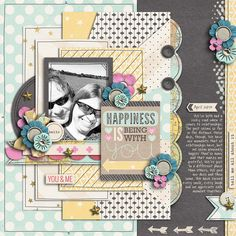 School Scrapbook Layouts, April 2nd, You And I, Sketches, Happiness, Frame, Happy, Cards, Inspiration