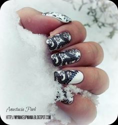 The Girl With The Dragon Tattoo | 19 Must Have Literary Manicures
