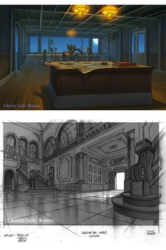 Artes da série italiana The Extraordinary Adventures of Jules Verne | THECAB - The Concept Art Blog