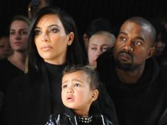 Kim Kardashian's Baby Saint West, His First Baby Picture