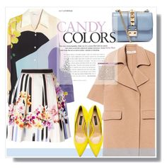 """""""Candy Colors!"""" by anne-mclayne ❤ liked on Polyvore featuring Marni, Valentino, 3.1 Phillip Lim, Alberta Ferretti and Dolce&Gabbana"""