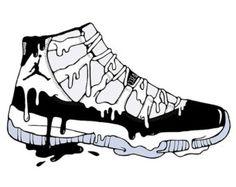 Air Jordan XI Concord Art
