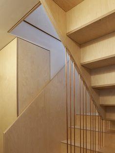 Split Level Apartment, Snaresbrook, London — + CARL TRENFIELD ARCHITECTS +