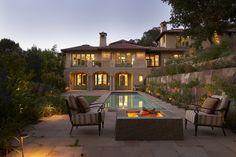 Spanish Colonial estate, San Francisco. Michael Rex Architects, Sausalito.