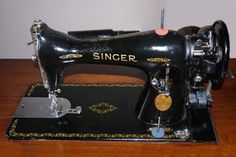 Singer 15J-91 - looks just like my machine, so I guess mine's a 15-91 then