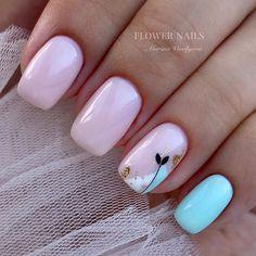 Semi-permanent varnish, false nails, patches: which manicure to choose? - My Nails Nail Swag, Hot Nails, Pink Nails, Feather Nails, Short Nails Art, Nagel Gel, Cute Nail Designs, Flower Nails, Creative Nails