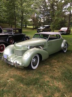 1937 Cord 812 Supercharged Phaeton.