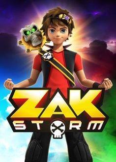 NEW Zak Storm Personalized Birthday Party Favor Gift T-Shirt