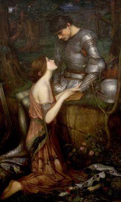 [フリー絵画素材] ジョン・ウィリアム・ウォーターハウス - ラミア (1849 - 1917) ID:201311210400