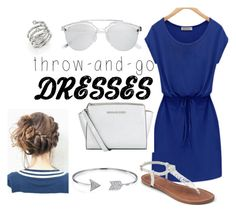 """""""throw and go dresses"""" by duggy1117 on Polyvore featuring Apt. 9, MICHAEL Michael Kors, Witchery, Bling Jewelry and Michael Kors"""
