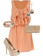 love this color w/ the nude shoes