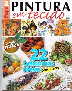 faça já pintura em tecido nº4 - ADRIANA MOURA - Álbuns da web do Picasa