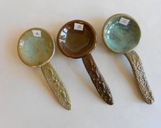 Instant Collection of pottery spoons Made to Order