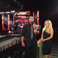 @rusevig and @thelanawwe will join #TheCoach during this hour of @espn @sportscenter!
