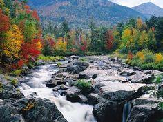 Fall Mountains Desktop Background | Fall Wallpaper on Autumn Mountain Stream Picture Wallpaperdaily Com