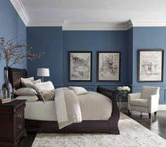 Приятный синий цвет