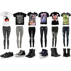 Band merch  Not a fan of the striped pants though