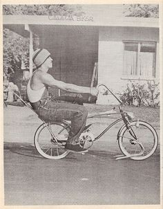 Oldschool Lowrider bike