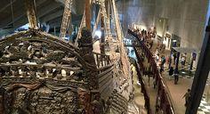 L'unico vascello in legno del seicento arrivato intatto fino a noi. Bellissimo s fortunatissimo: è la nave Vasa e a Stoccolma il suo museo.