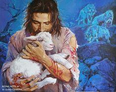 Jesus Bible, Jesus Art, Pictures Of Jesus Christ, The Good Shepherd, Gods Love, Best Friends, Blessed, Altars, Instagram Posts