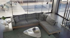 Alfa saloni by DVSFurniture Outdoor Sectional, Sectional Sofa, Couch, Mobile Home, Outdoor Furniture, Outdoor Decor, Dining Room, Rustic, Design
