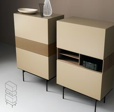 Caixa TV Stand Cabinet With Built In Speakers   ARREDACLICK | Furniture |  Pinterest | Tv Stand Cabinet, Tv Stands And Speakers