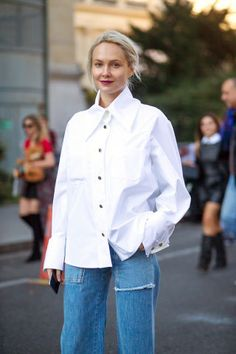 Need fashionable fall outfit ideas? Look no further than the chic street style scene at Paris Fashion Week. 111 fall outfits to try now: