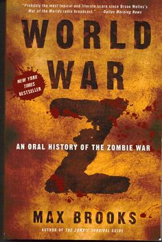Probably one of the best zombie books ever written because it makes the possibility just real by the way that it's introduced and fleshed out. Even if you're not a zombie fan, you will enjoy the tapestry that is built here